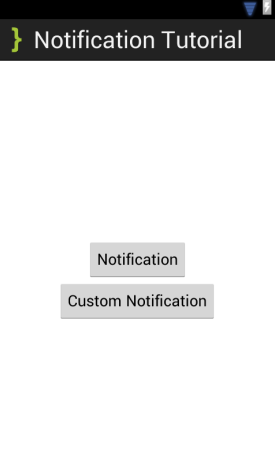 NotificationMain XML